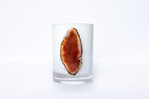 Carnelian Agate Candle