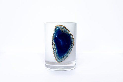 Sicily Blue Agate Candle