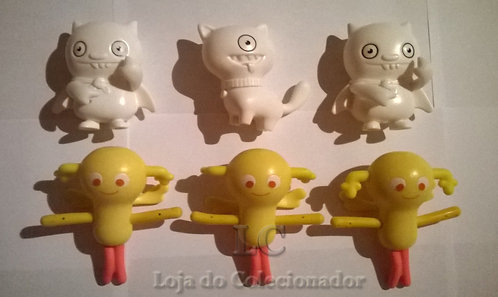Lote com 6 personagens - Brindes do McDonalds