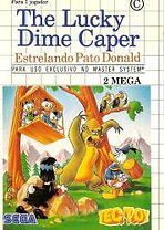 Lucky Dime Caper: Starring Pato Donald - Master System
