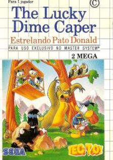 Lucky Dime Caper - Master System