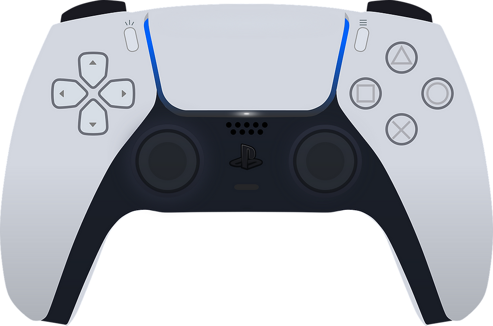 Controle do Videogame Playstation 5 da Sony