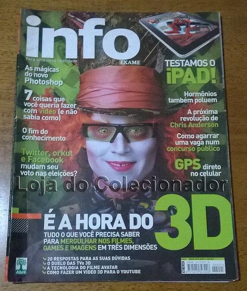 Revista Info - N° 291 - Maio de 2010