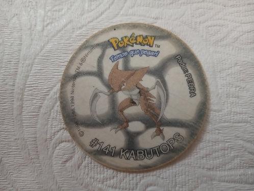 Tazo Kabutops - Pokémon - Número 37