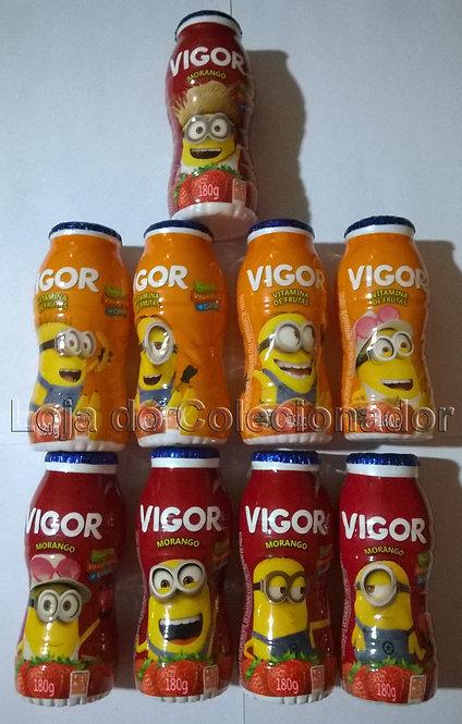 Coleção Completa Embalagens Vigor Minions 3 - Vazios