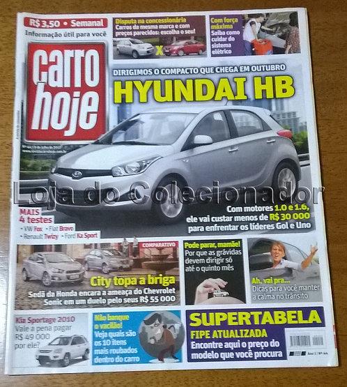 Revista Carro Hoje - N°44 - 2012