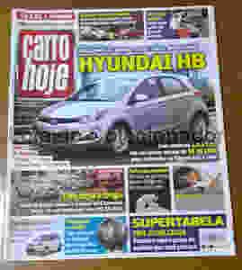 Revista Carro Hoje - Número 44 - Ano 1 - 2012