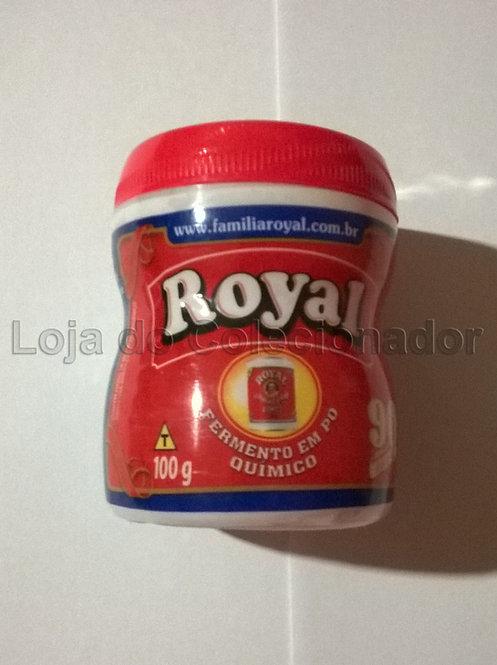 Embalagem Vazia - Fermento em Pó Royal - Plástico- Coleção