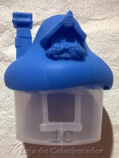 Casinha dos Smurfs - brinde do McDonalds