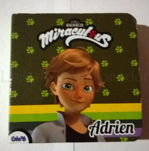 Mini Livro Cartonado - Miraculous - Adrien