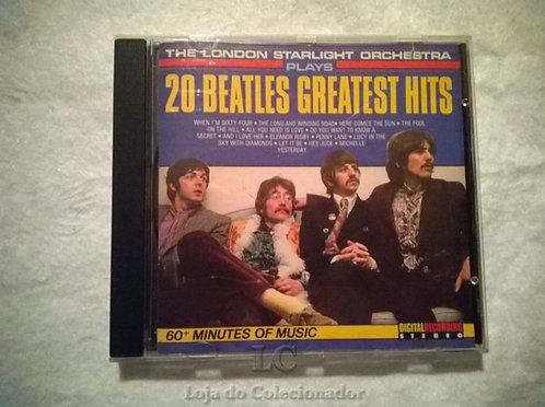 CD The Beatles - Instrumental - Orquestra de Londres