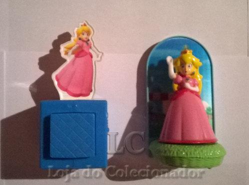 Lote com 2 Princesas Peach - brindes do McDonalds