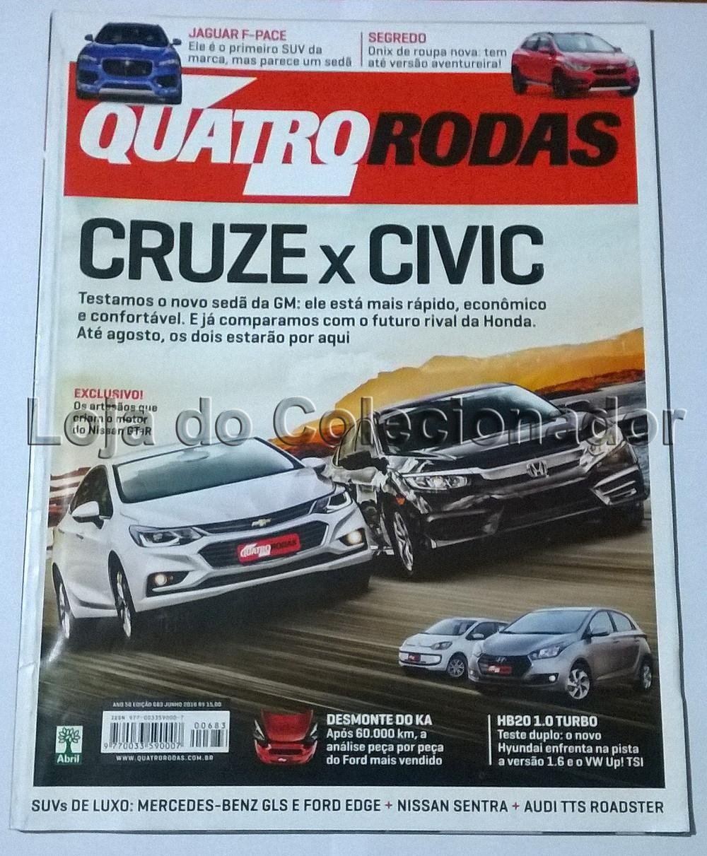 Revista Quatro Rodas - Número 685 - Agosto de 2016