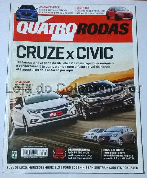 Revista Quatro Rodas - Número 683 - Junho de 2016