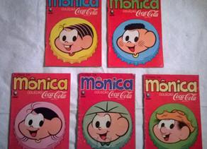 Gibis Turma da Mônica promoção Coca-Cola