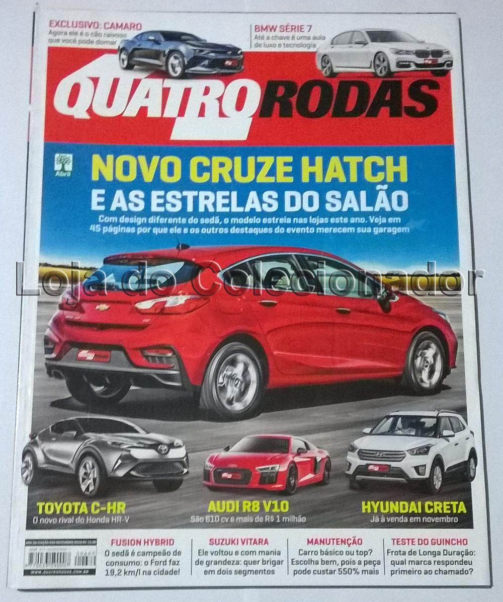 Revista Quatro Rodas - Número 689 - Novembro de 2016