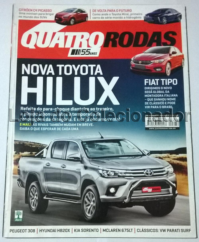Revista Quatro Rodas - Número 676 - Novembro de 2015