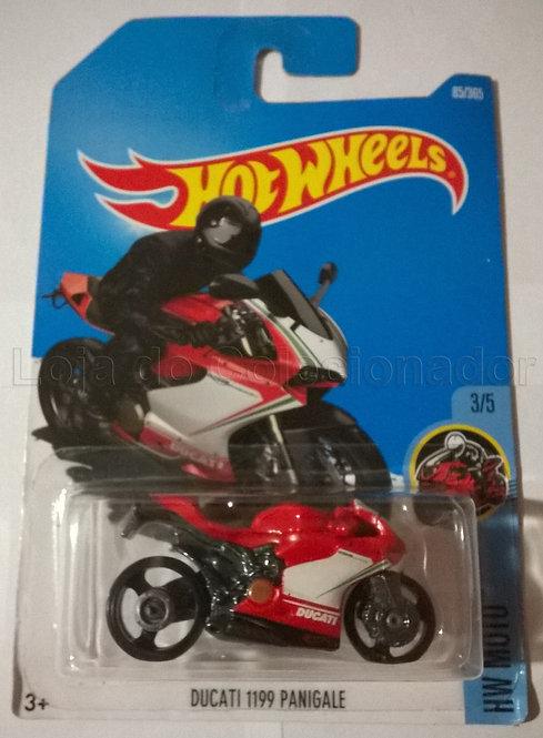 Moto Ducatti 1199 Panigale - Hot Wheels