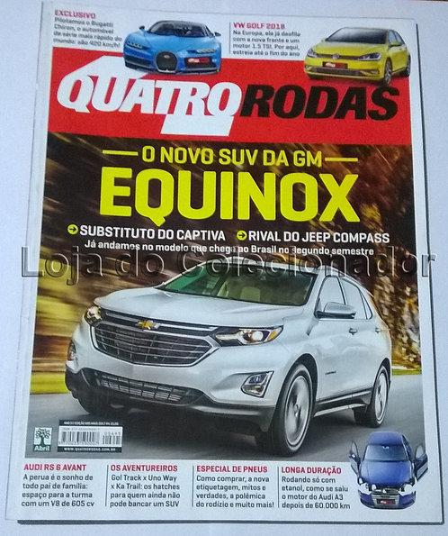 Revista Quatro Rodas - Número 695 - Maio de 2017