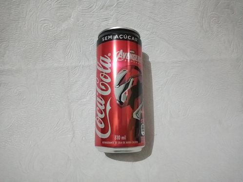 Latinha colecionável - Vingadores - Coca-Cola