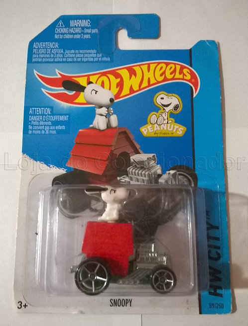Carrinho Snoopy - Hot Wheels
