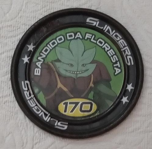 Tazo Gormiti 170 - Bandido da Floresta - Raro