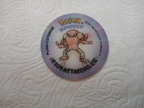 Tazo Hitmonlee - Evolutazo - Pokémon - Número 67