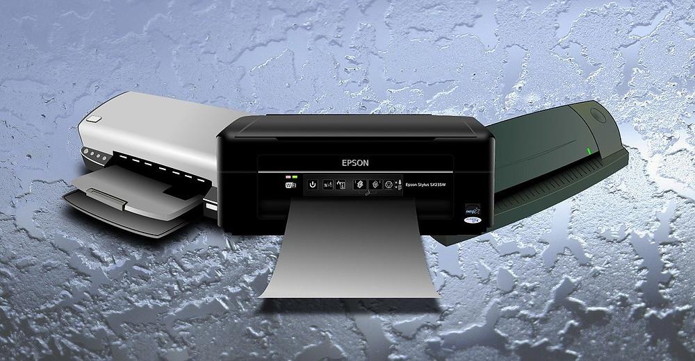 Scanners e Impressoras de Computador
