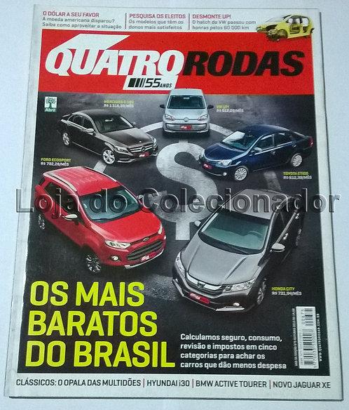 Revista Quatro Rodas - Número 675 - Outubro de 2015