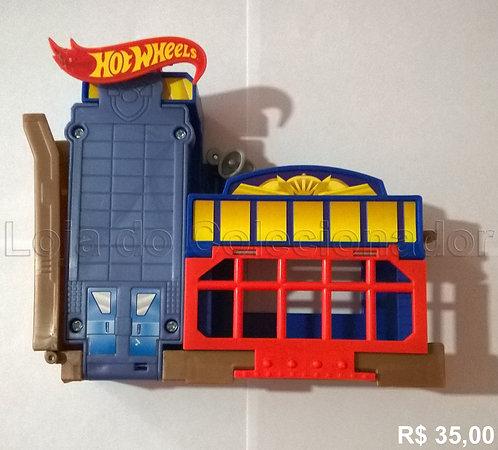 Brinquedo - Hot Wheels - Posto