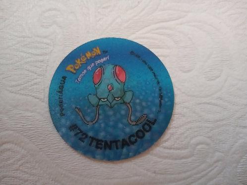 Tazo Tentacool - Pokémon  Número 56