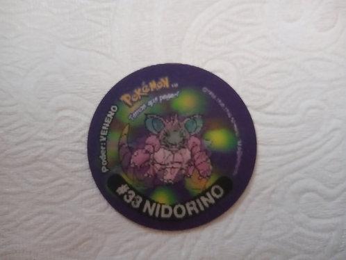 Tazo Nidorino - Pokémon  Número 50