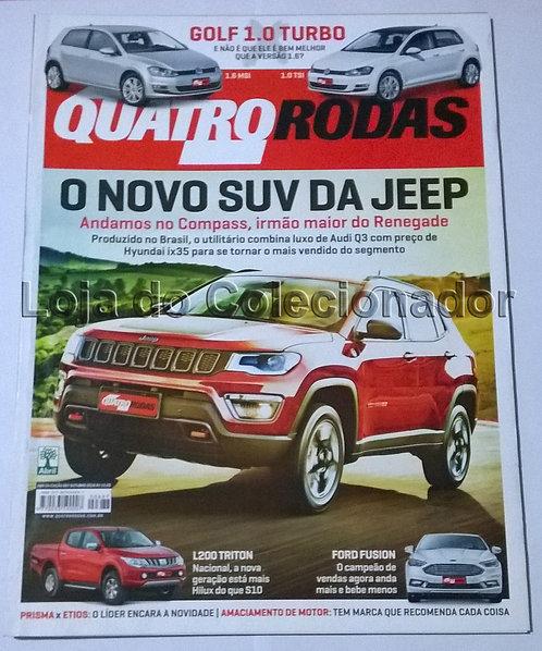 Revista Quatro Rodas - Número 687 - Outubro de 2016