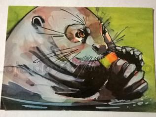 Cartão - Seja Amigo dos Bichos
