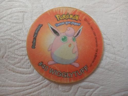 Tazo Wigglytuff - Pokémon - Número 11