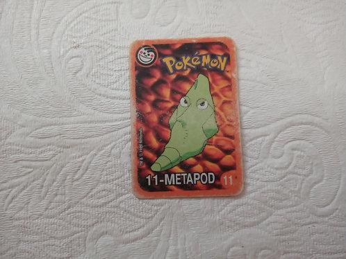 Cartinha Pokémon - Metapod - Elma Chips - Número 11