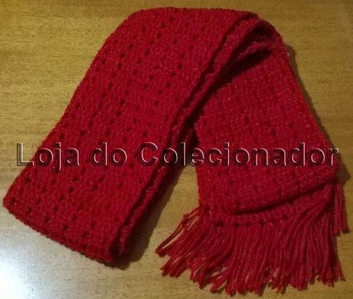 Cachecol Vermelho (Crochê)
