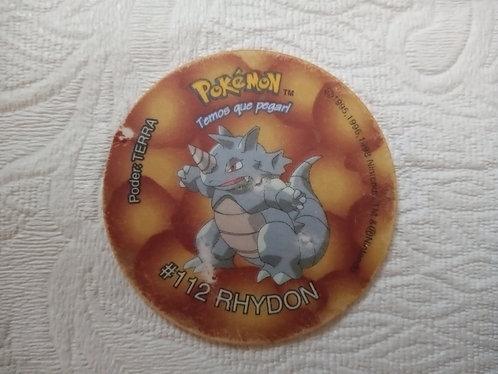 Tazo Rhidon - Pokémon - Número 22