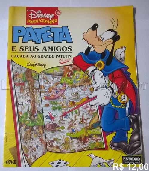 Livro Pateta - Passatempo Disney - Estadão - 1998