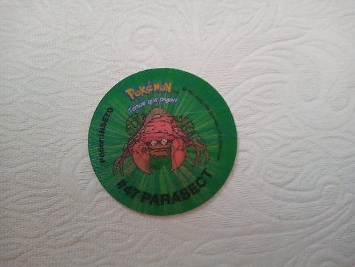 Tazo Parasect - Pokémon - Número 51