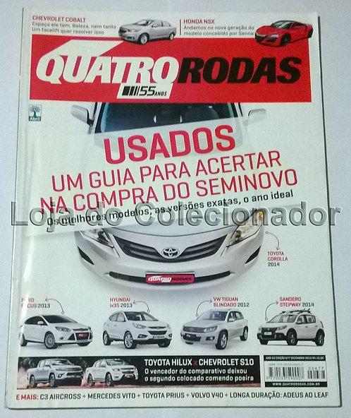 Revista Quatro Rodas - Número 677 - Dezembro de 2015