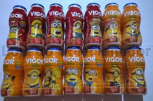 Coleção de Potes Vazios da Vigor - Minions 3 - Coleção