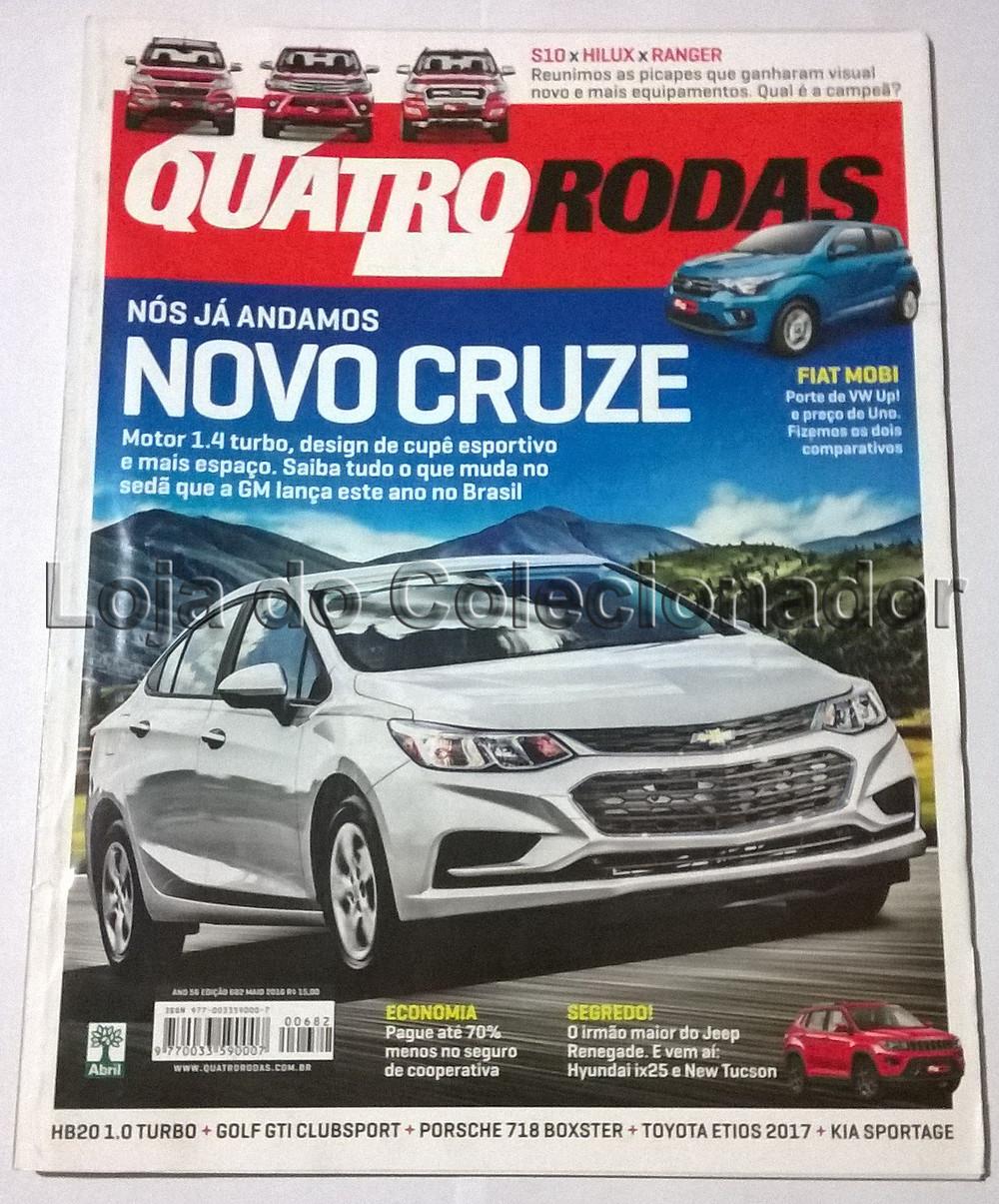 Revista Quatro Rodas - Número 682 - Maio de 2016