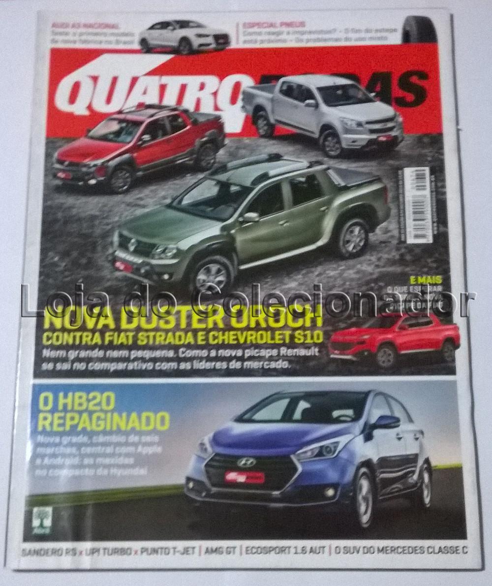 Revista Quatro Rodas - Número 674 - Outubro de 2015