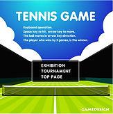 Tennis Game - Loja do Colecionador