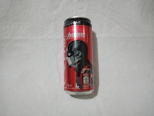 Latinha colecionável - Capitão América - Vingadores - Coca-cola