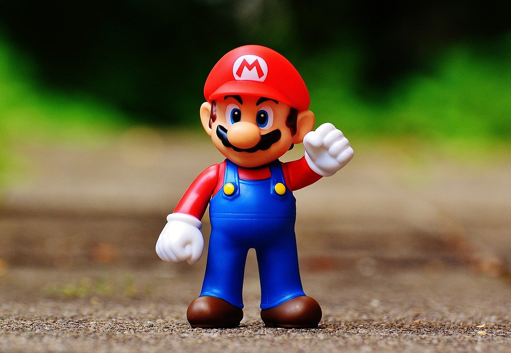 O Personagem Super Mario da Nintendo