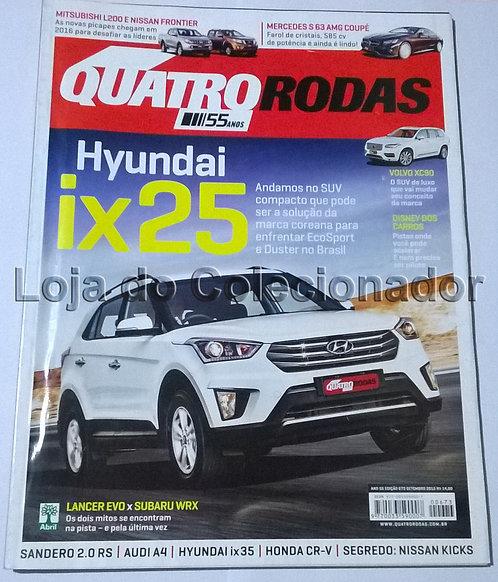 Revista Quatro Rodas - Número 673 - Setembro de 2015