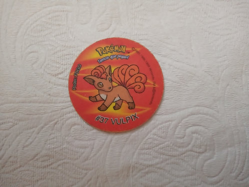 Tazo Vulpix - Pokémon - Número 8