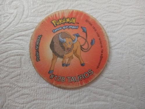 Tazo Tauros - Pokémon - Número 32